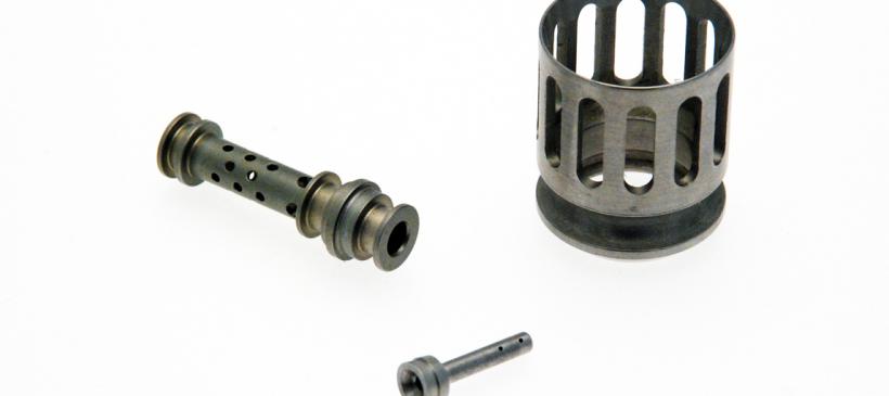 Filtres et colonne en acier inoxydable passivé