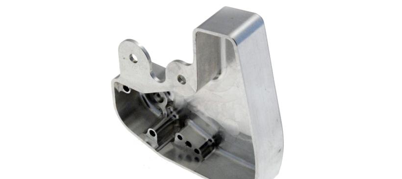 Carter usiné dans la masse en alliage d'aluminium AU4G1