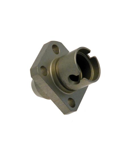 Connecteur en alliage d'aluminium AU4G1 anodisé