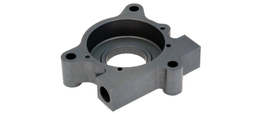 Couvercle alliage d'aluminium AU4G anodisé