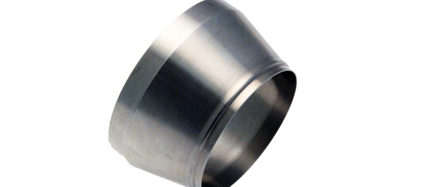 Douille de réduction en acier inoxydable Z10CNT18/12
