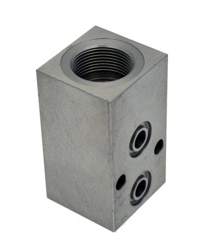Corps de clapet anti retour en alliage d'aluminium AG41/2 anodisé 10μ