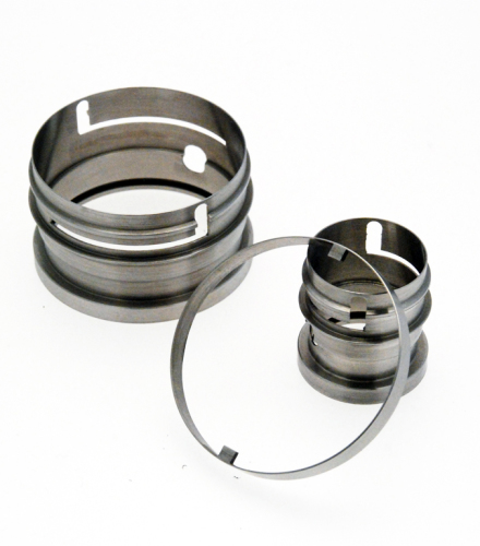 Connecteur anti-feu en acier inoxydable