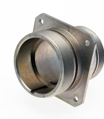 Corps de connecteur en alliage d'aluminium AZ5GU anodisé